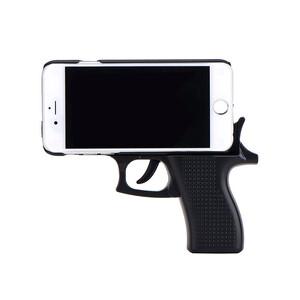 Купить 3D чехол-пистолет Gun Black для iPhone 6/6s