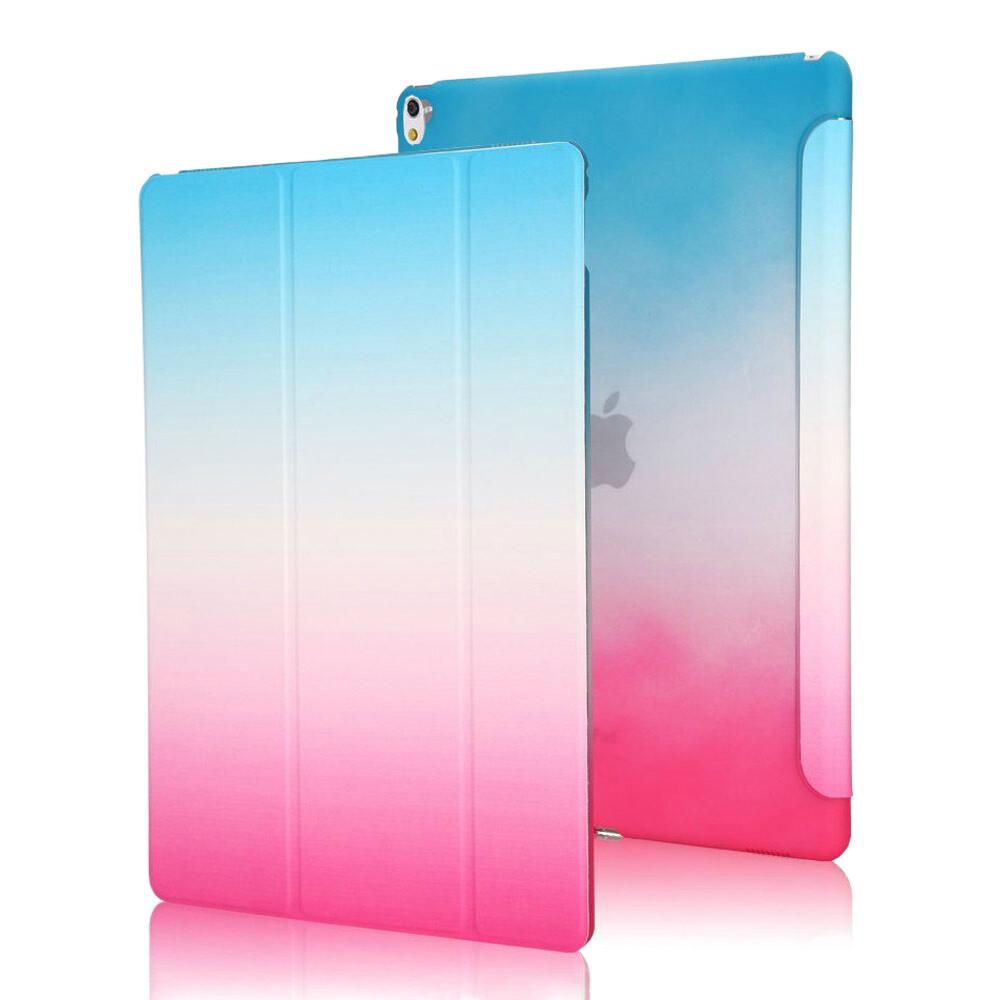 """Пластиковый чехол Rainbow Blue/Rose для iPad Pro 9.7"""""""