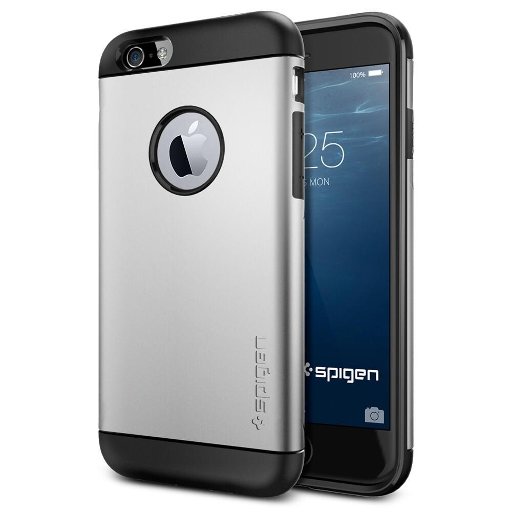 Чехол Spigen Slim Armor Satin Silver для iPhone 6/6s