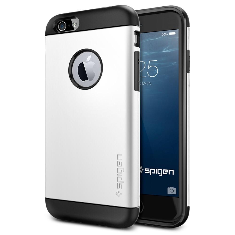 Чехол Spigen Slim Armor Shimmery White для iPhone 6/6s