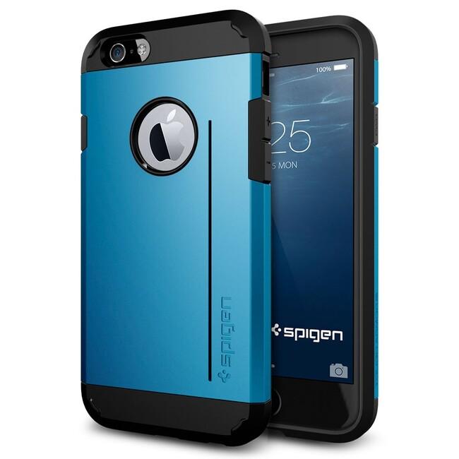 Чехол Spigen Tough Armor S Electric Blue для iPhone 6/6s