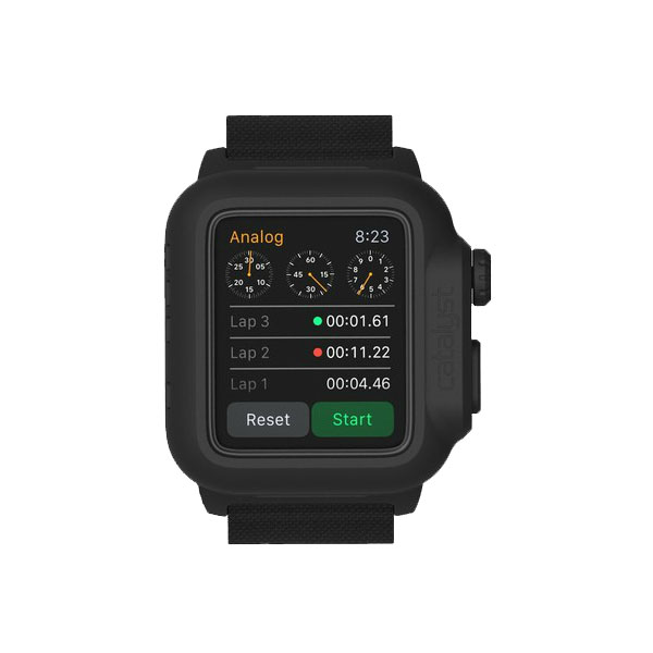 Водонепроницаемый чехол Catalyst Stealth Black для Apple Watch Series 1 42mm