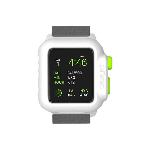 Водонепроницаемый чехол Catalyst Green Pop для Apple Watch Series 1 42mm