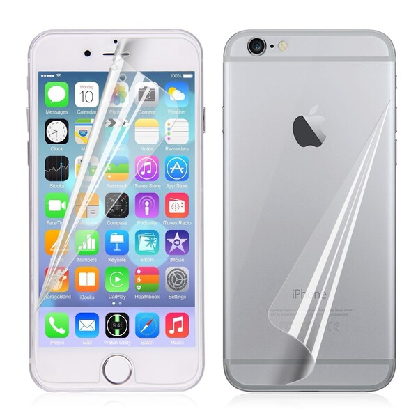 Задняя+передняя защитная пленка iLoungeMax SilicolView для iPhone 6   6s