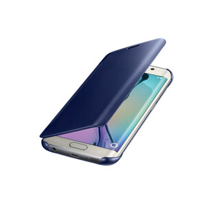 Купить Чехол Samsung Clear View Cover Black для Samsung Galaxy S6 Edge