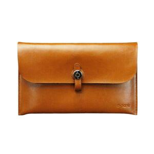 Купить Кожаный чехол d-park Big Button Brown для iPad mini 4/3/2/1