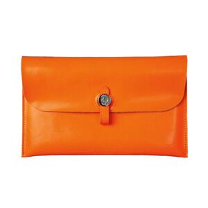 Купить Кожаный чехол d-park Big Button Orange для iPad mini 4/3/2/1