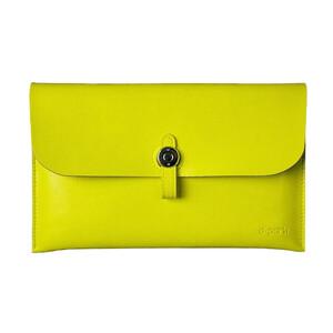 Купить Кожаный чехол d-park Big Button Yellow для iPad mini 4/3/2/1