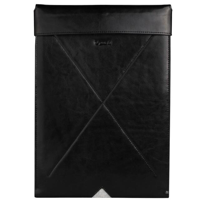 """Кожаный чехол d-park Taurus Black для iPad Pro 12.9"""""""
