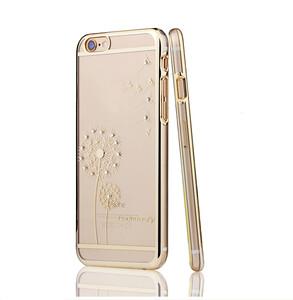 Купить Чехол SWAROVSKI Dandelion Clear Gold для iPhone 6/6s