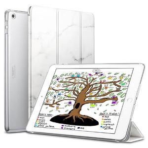 """Купить Мраморный магнитный чехол ESR Marble Trifold Case White для iPad 9.7"""" (2017/2018)"""