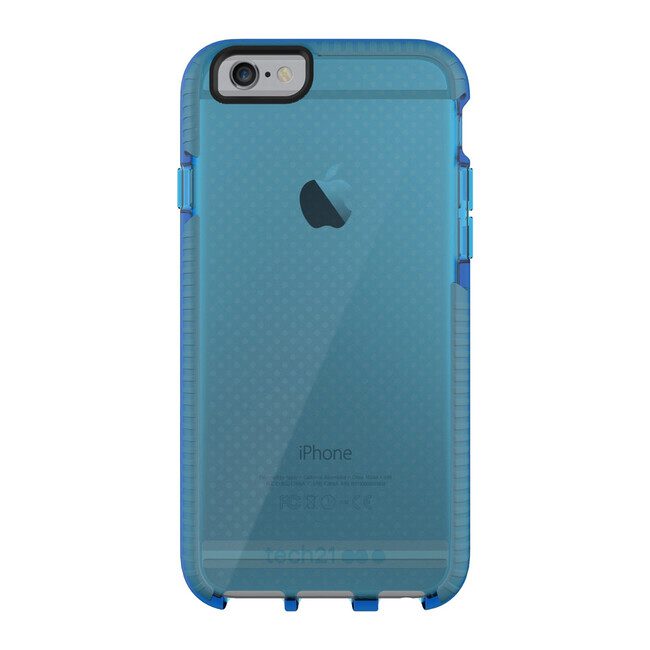 Противоударный чехол Tech21 Evo Mesh Blue/Gray для iPhone 6/6s