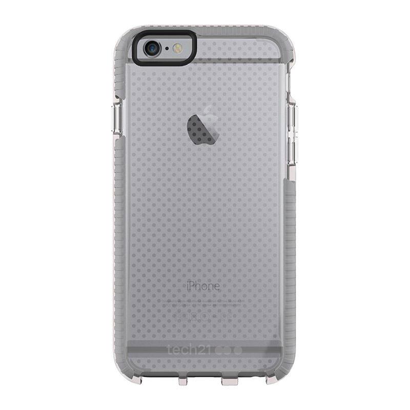 Противоударный чехол Tech21 Evo Mesh Clear/Gray для iPhone 6/6s