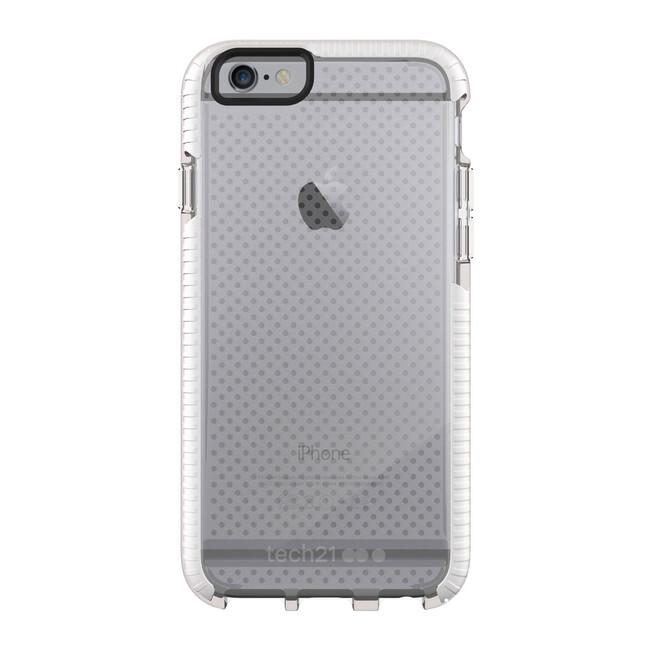 Противоударный чехол Tech21 Evo Mesh Clear/White для iPhone 6/6s
