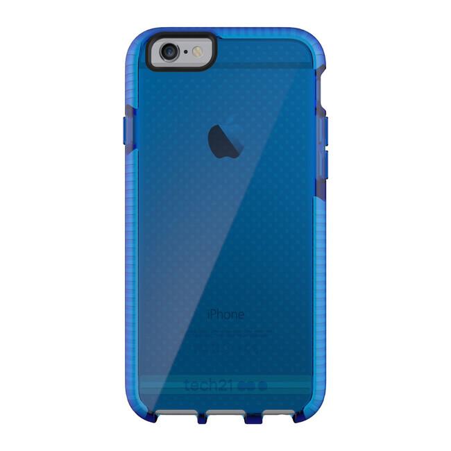 Противоударный чехол Tech21 Evo Mesh Dark Blue/White для iPhone 6/6s
