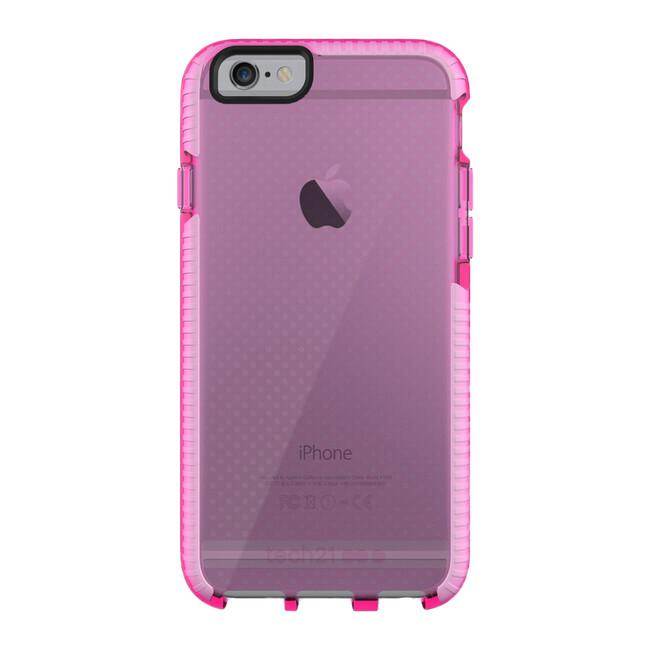 Противоударный чехол Tech21 Evo Mesh Pink/White для iPhone 6/6s