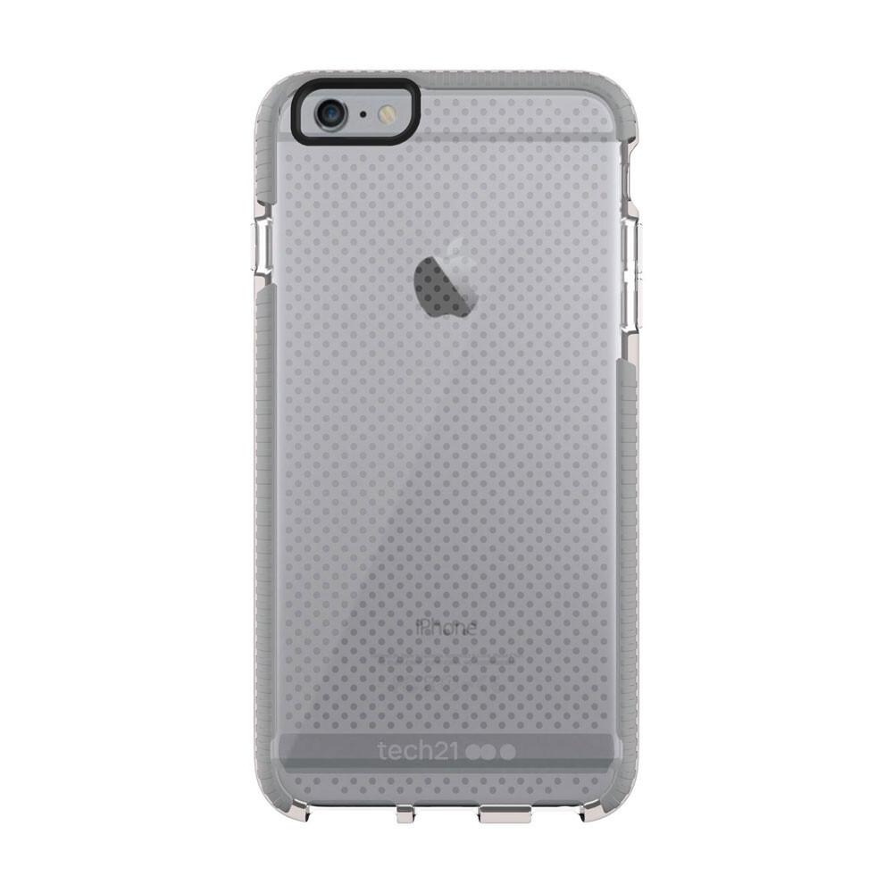 Противоударный чехол Tech21 Evo Mesh Clear/Gray для iPhone 6 Plus/6s Plus