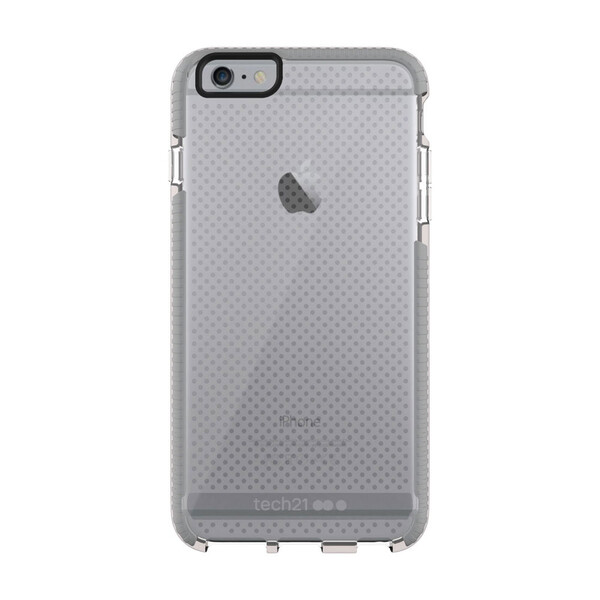 Противоударный чехол Tech21 Evo Mesh Clear | Gray для iPhone 6 Plus | 6s Plus