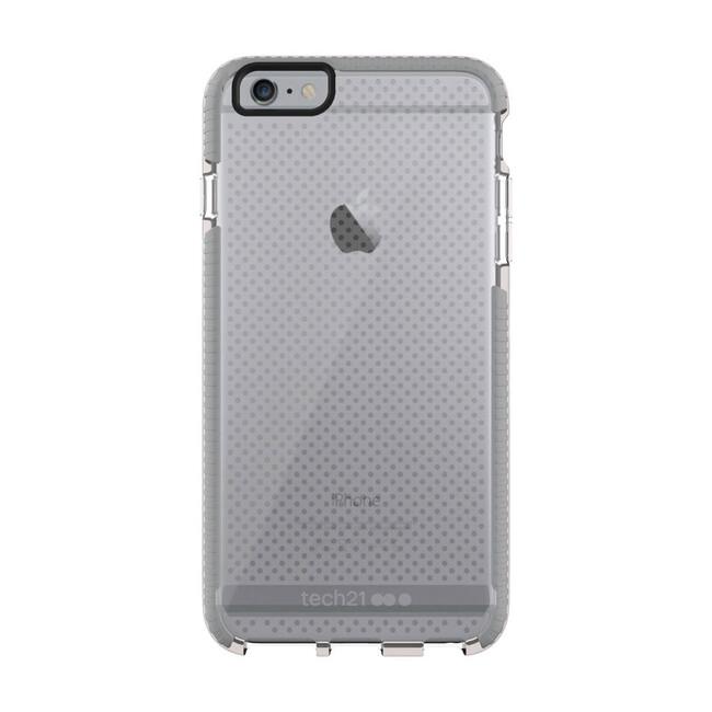 Противоударный чехол Tech21 Evo Mesh Clear/Gray для iPhone 6/6s Plus