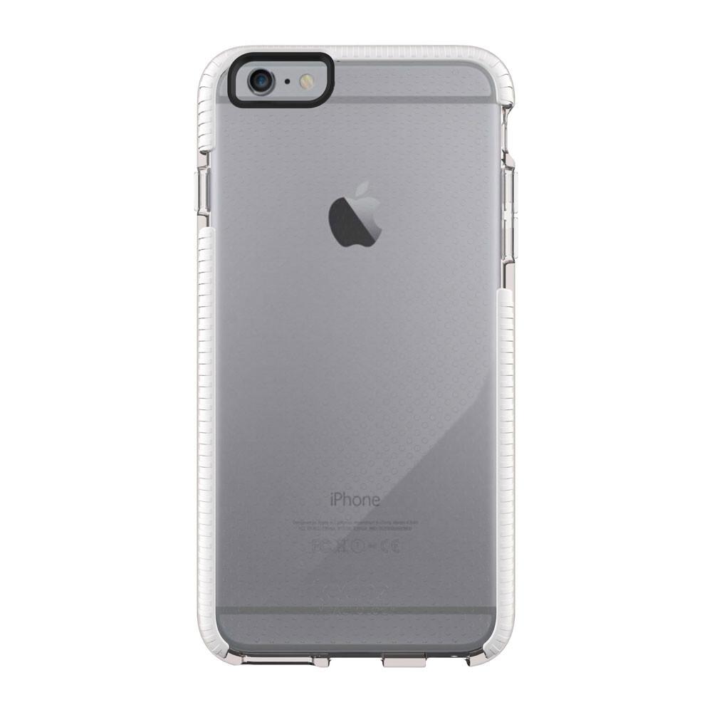 Противоударный чехол Tech21 Evo Mesh Clear/White для iPhone 6 Plus/6s Plus