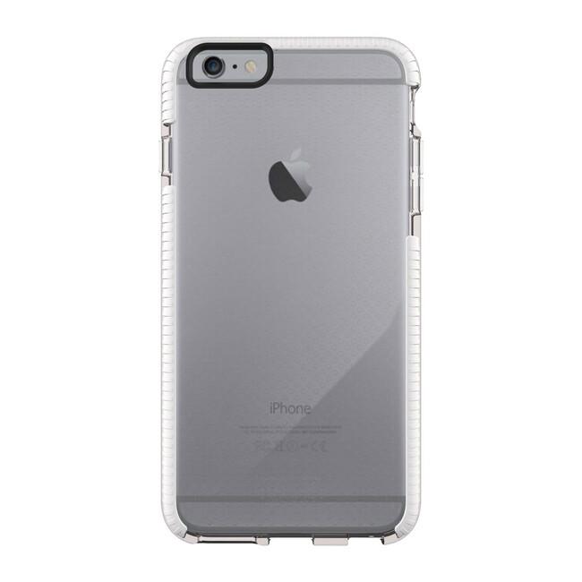Противоударный чехол Tech21 Evo Mesh Clear/White для iPhone 6/6s Plus