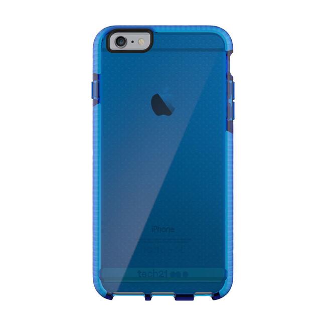 Противоударный чехол Tech21 Evo Mesh Dark Blue/White для iPhone 6/6s Plus