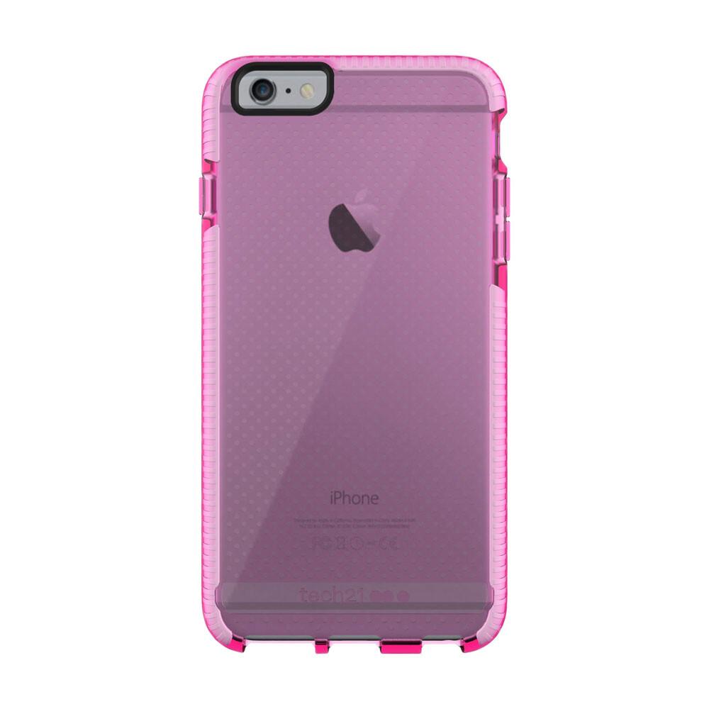 Противоударный чехол Tech21 Evo Mesh Pink/White для iPhone 6 Plus/6s Plus