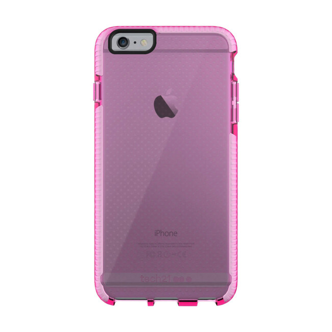 Противоударный чехол Tech21 Evo Mesh Pink/White для iPhone 6/6s Plus