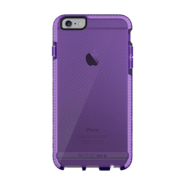 Противоударный чехол Tech21 Evo Mesh Purple/White для iPhone 6/6s Plus