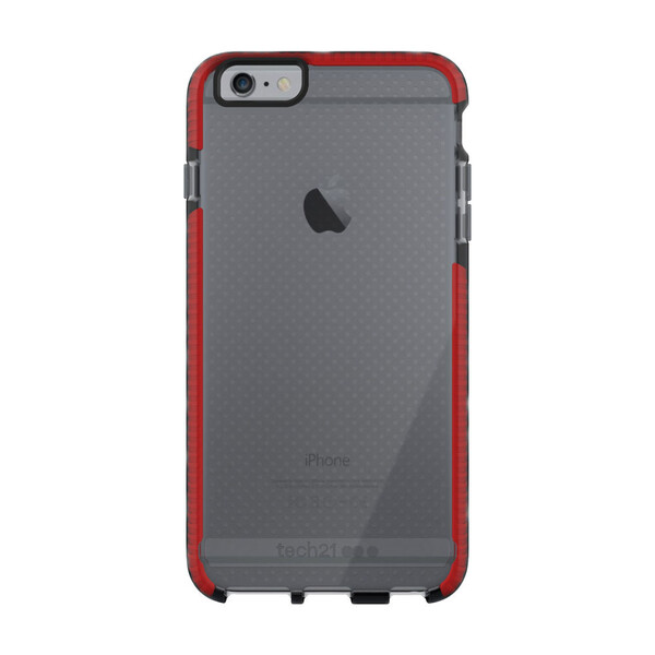 Противоударный чехол Tech21 Evo Mesh Smokey | Red для iPhone 6 Plus | 6s Plus