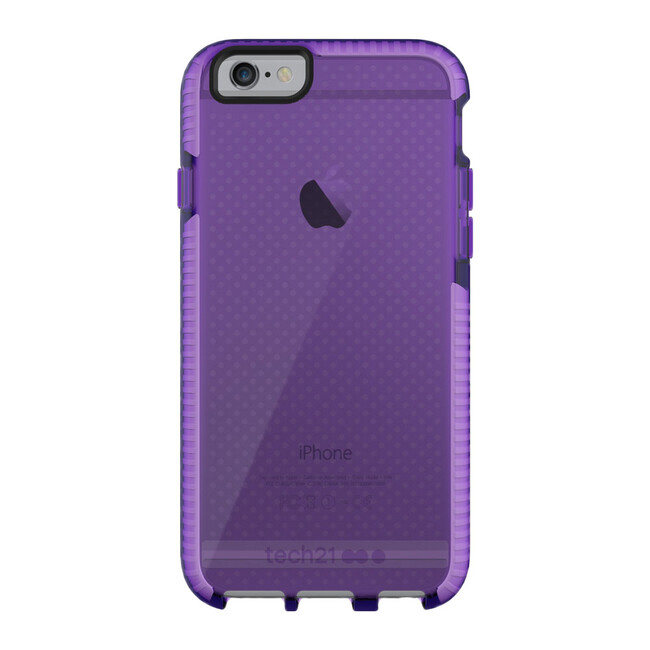 Противоударный чехол Tech21 Evo Mesh Purple для iPhone 6/6s