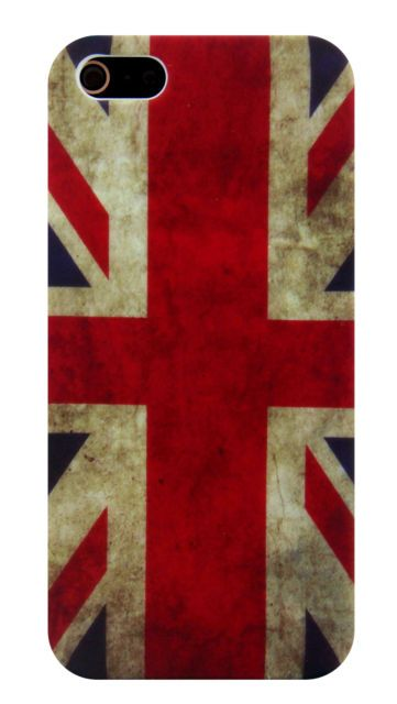 Чехол UK Retro Flag для iPhone 5/5S/SE