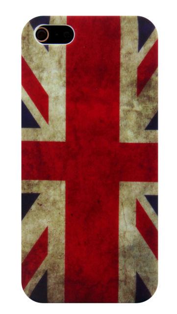 Чехол UK Retro Flag для iPhone 5/5S/SE