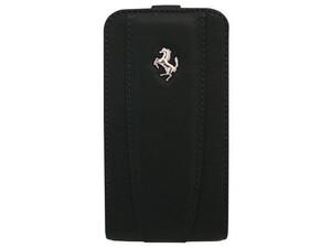 Купить Кожаный чехол Ferrari Modena Black для iPhone 4/4S