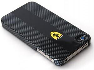 Купить Карбоновый чехол Ferrari для iPhone 4/4S