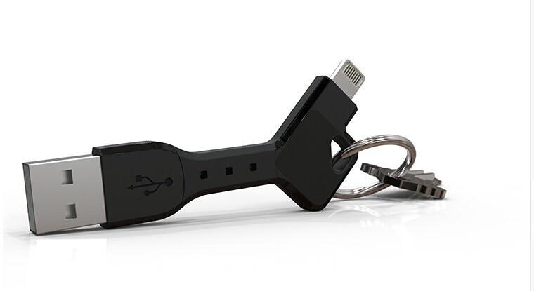 Брелок-кабель FlexCharge Lightning для зарядки iPhone/iPad/iPod
