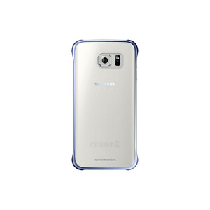 Купить Чехол Samsung Clear Cover Blue для Samsung Galaxy S6 Edge