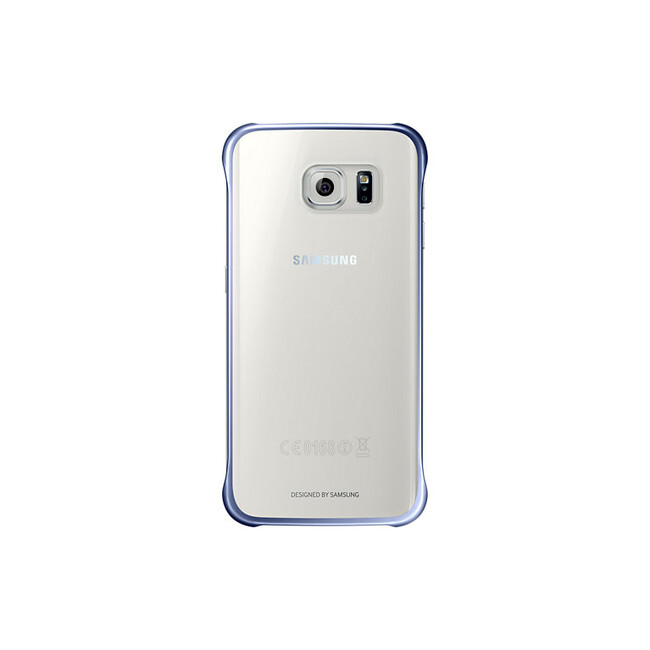 Чехол Samsung Clear Cover Blue для Samsung Galaxy S6 Edge