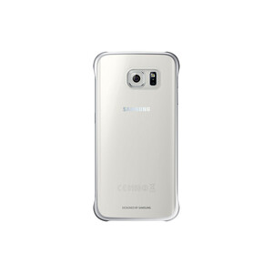 Купить Чехол Samsung Clear Cover Silver для Samsung Galaxy S6 Edge