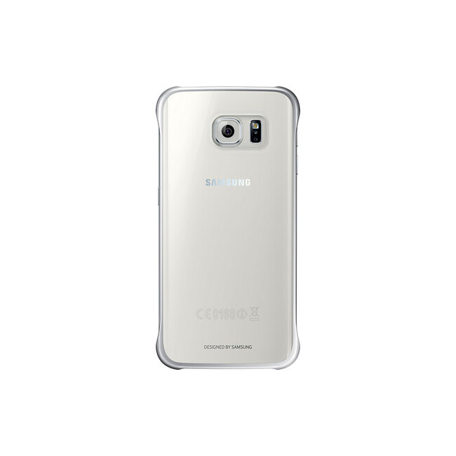 Чехол Samsung Clear Cover Silver для Samsung Galaxy S6 Edge