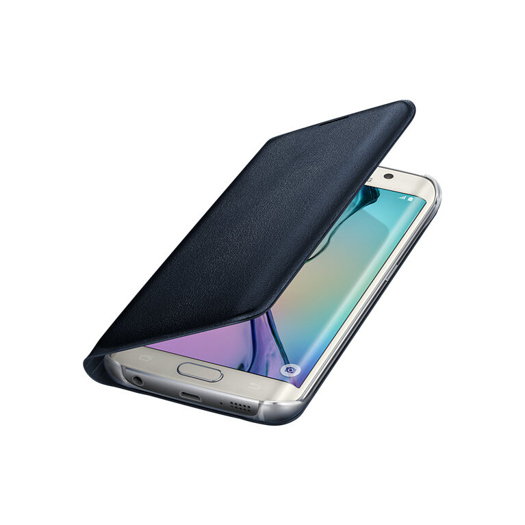Чехол Samsung Flip Wallet Cover Black для Samsung Galaxy S6 Edge