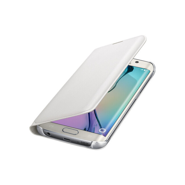 Чехол Samsung Flip Wallet Cover White для Samsung Galaxy S6 Edge
