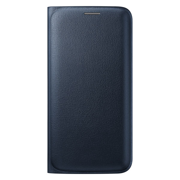 Чехол Samsung Flip Wallet Cover OEM Black для Samsung Galaxy S6 Edge