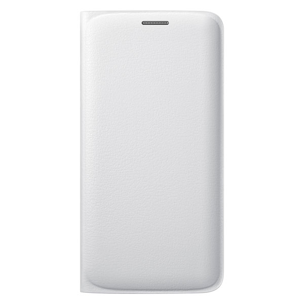Чехол Samsung Flip Wallet Cover OEM White для Samsung Galaxy S6 Edge