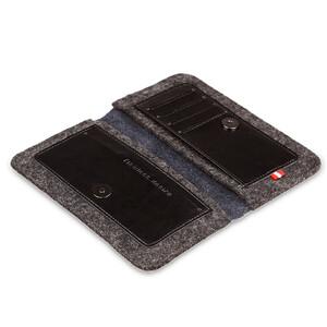 Купить Кожаный чехол-кошелек d-park Handmade Wallet Black для iPhone 6/6s