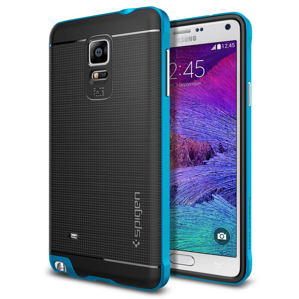 Чехол Spigen Neo Hybrid Electric Blue для Samsung Galaxy Note 4