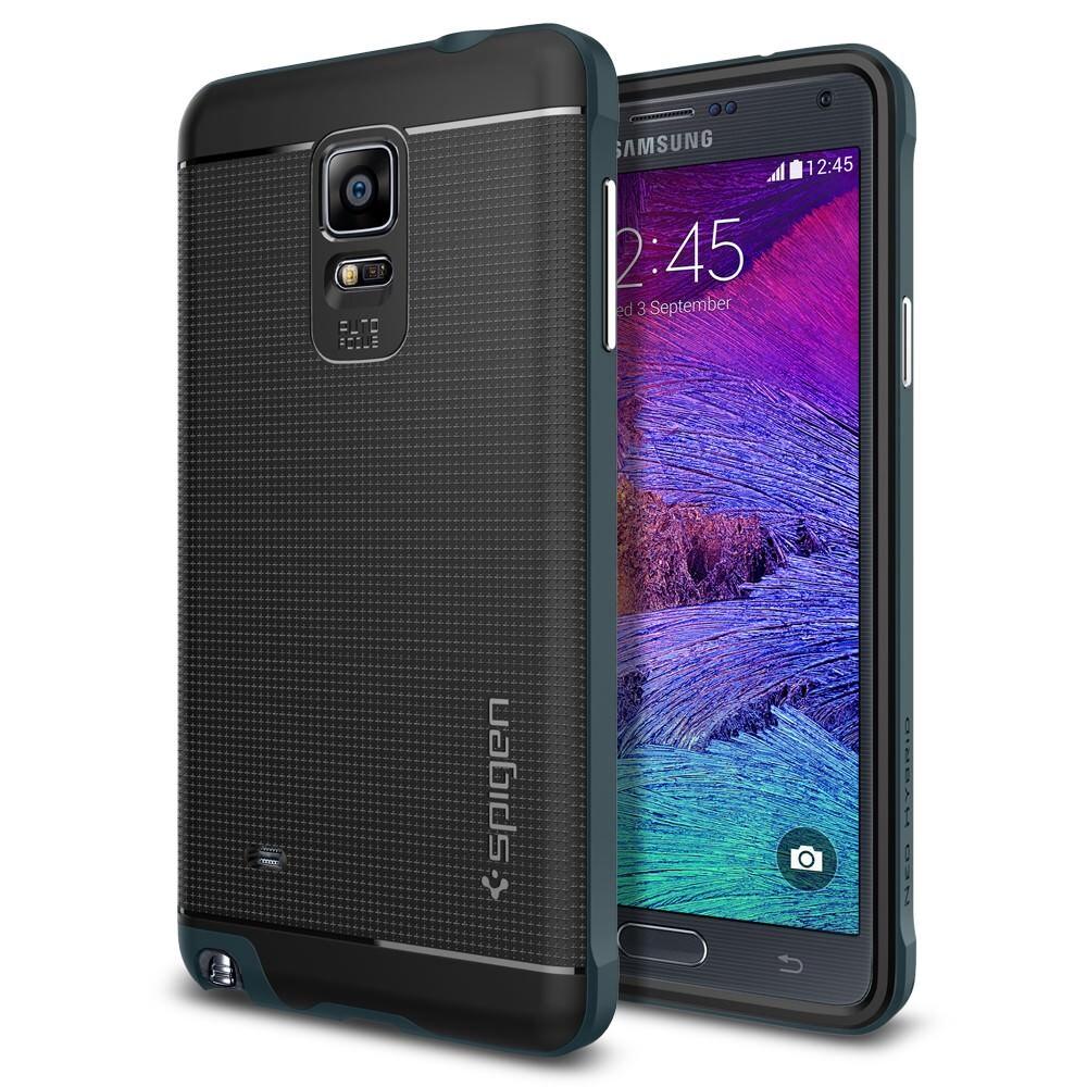 Чехол Spigen Neo Hybrid Metal Slate для Samsung Galaxy Note 4