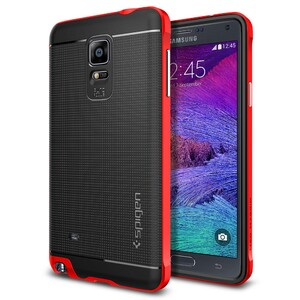 Купить Чехол Spigen Neo Hybrid Electric Red для Samsung Galaxy Note 4