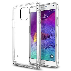 Купить Чехол Spigen Ultra Hybrid Crystal Clear для Samsung Galaxy Note 4