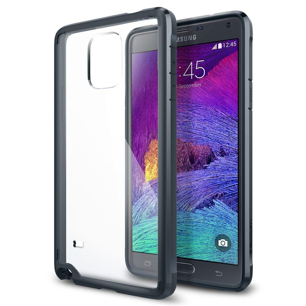Чехол Spigen Ultra Hybrid Metal Slate для Samsung Galaxy Note 4